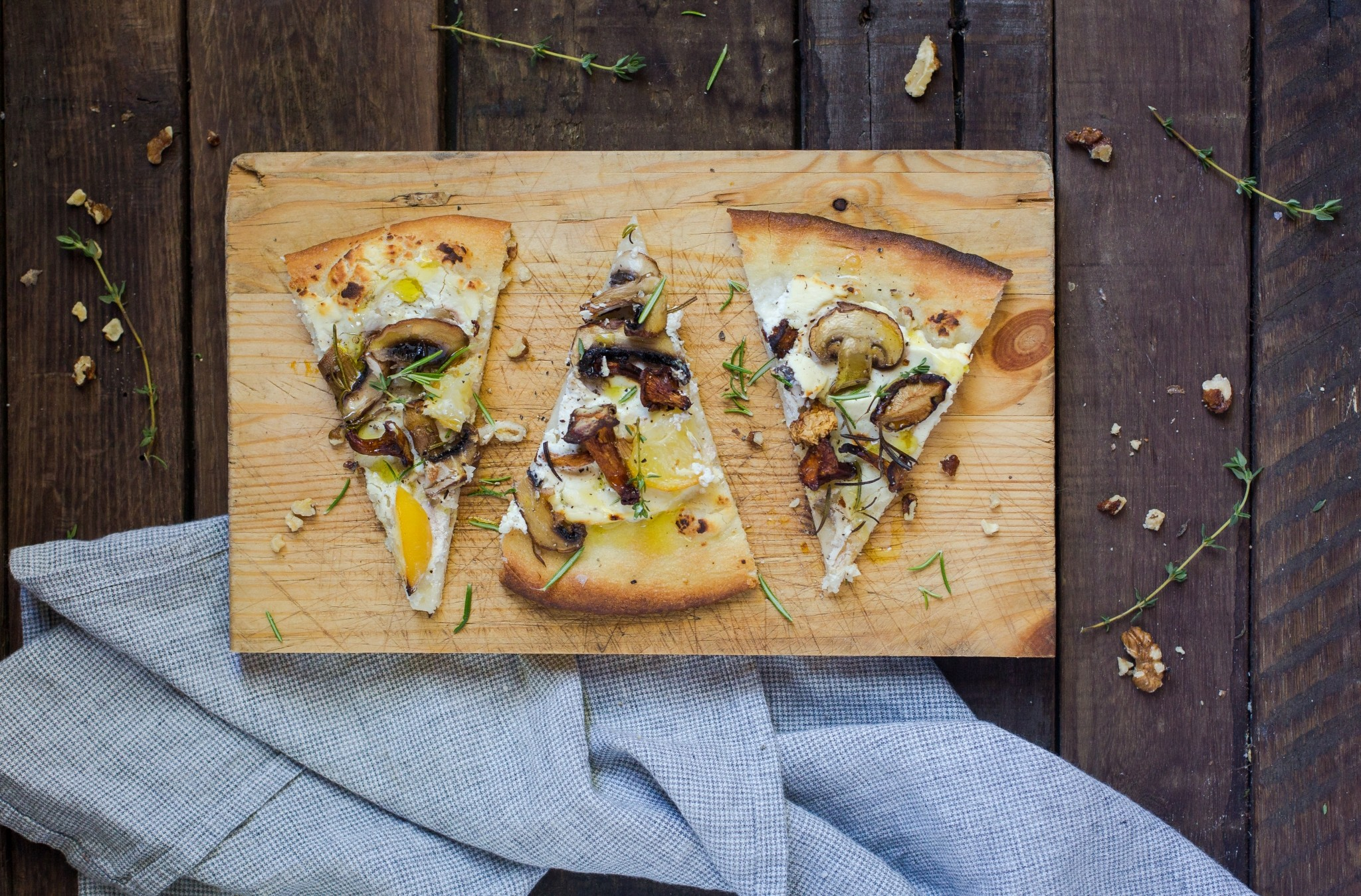 preserved lemon pizza